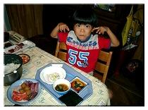 お誕生日祝いの手巻き寿司