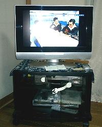 新しくやってきた液晶テレビとHDD/DVDレコーダー
